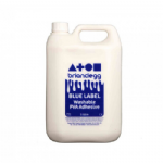 Blue Label Washable PVA Adhesive Single 5L Glue Bottle